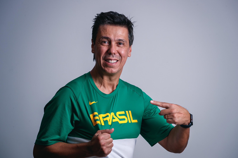 Helinho Garcia é o novo auxiliar técnico da Seleção Brasileira