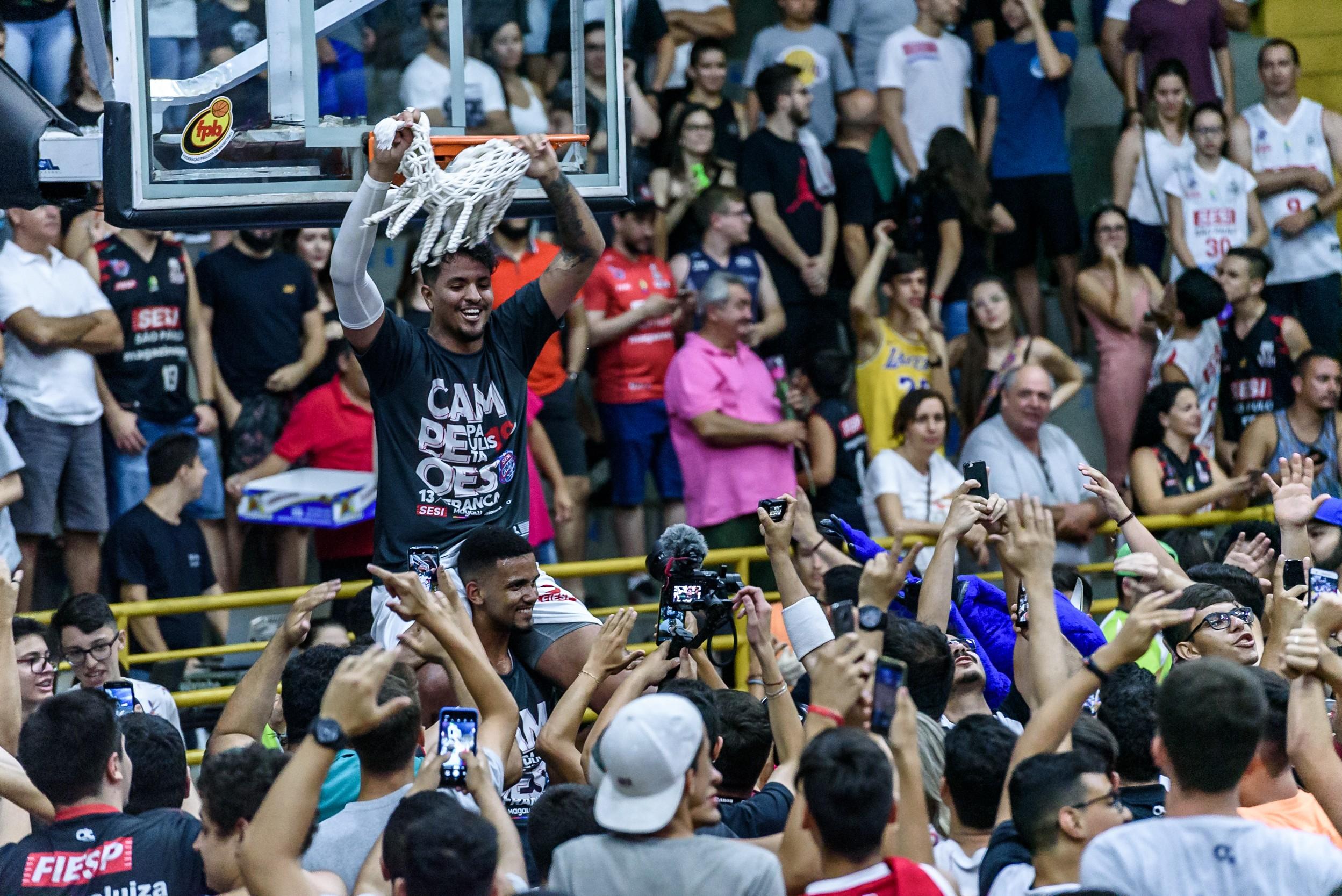 Bicampeonato paulista será transmitido na 5ª live do Sesi Franca Basquete