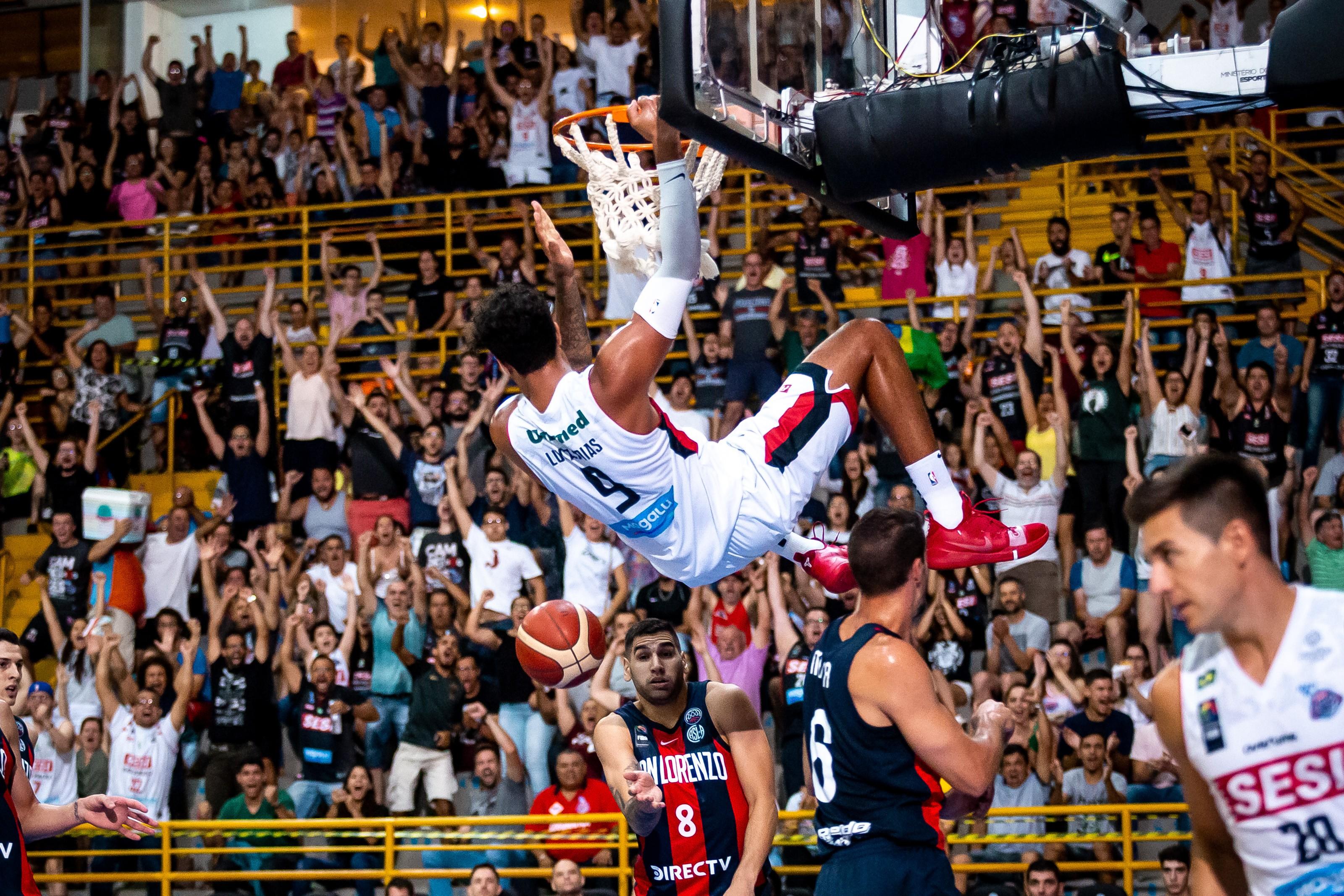 Com ótima defesa, Sesi Franca Basquete vence San Lorenzo